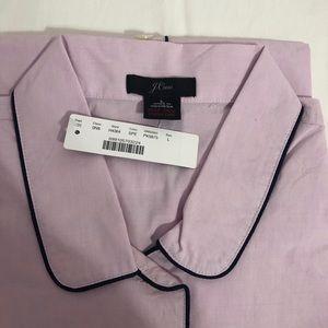 J CREW Pale Lilac Vintage Pajama(top)